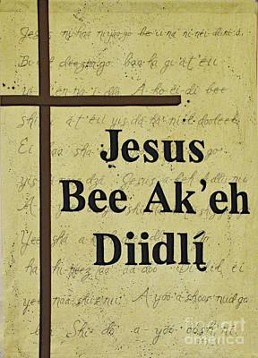 Photograph - Jesus Bee Ak'eh Diidli by Debby Pueschel