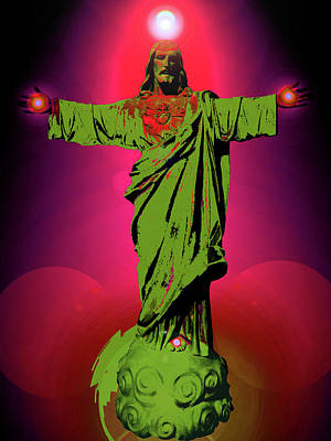 Jesus Bless No. 03 Art Print
