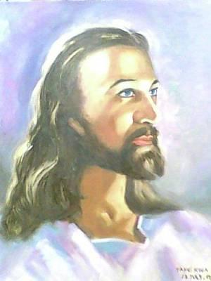 Painting - Jesus Blesses You by Wanvisa Klawklean