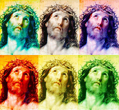 Photograph - Jesus Christ Crown Of Thorns by Guido Reni