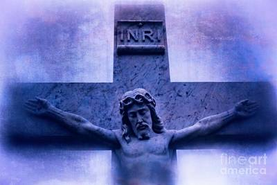 Photograph - Jesus Christ Crucifixion Cross #978 by Ella Kaye Dickey