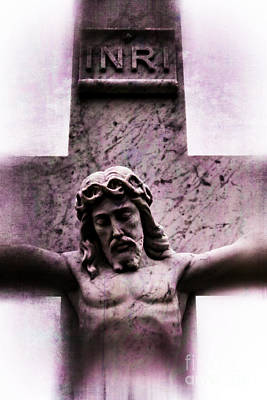 Digital Art - Jesus Christ Crucifixion Cross #979 by Ella Kaye Dickey