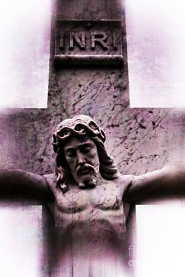 Digital Art - Jesus Christ Crucifixion Cross #979 by Ella Kaye Dickey