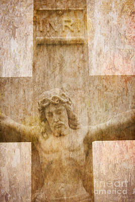 Digital Art - Jesus Christ - Crucifixion Cross #980 by Ella Kaye Dickey