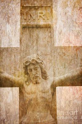 Digital Art - Jesus Christ - Crucifixion Cross #980 by Ella Kaye Dickey