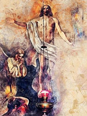 Jesus Painting - Jesus Christ by Justyna JBJart