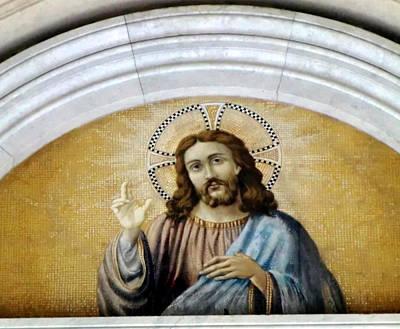 Baptism Digital Art - Jesus Christ by Mindy Newman