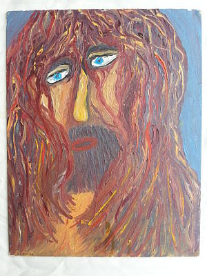Woe Painting - Jesus Christ by Ronald Carlino Jr