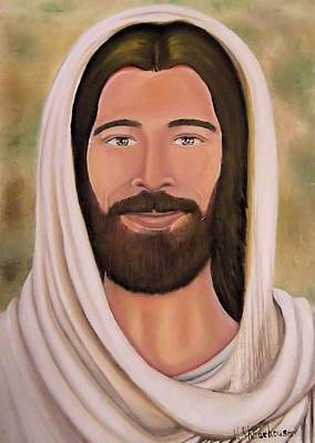 Painting - Jesus Christ by Victoria Rhodehouse