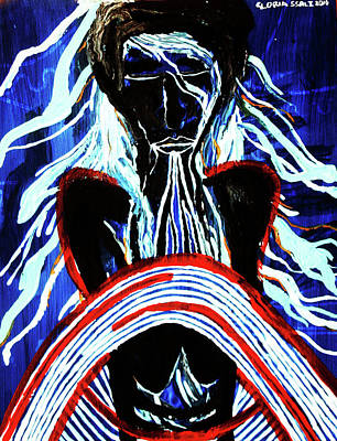 Emergence Painting - Jesus Christ's Emergence From The Tomb by Gloria Ssali