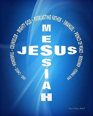 Saviour Mixed Media - Jesus' Cross 125 by Daniel Madrid