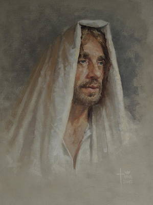 'jesus, Friend Of The Least Of These' Art Print by Christine Miller