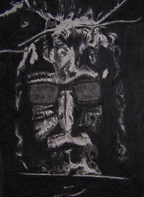 Religion Drawing - Jesus, He's Cool by Nick Young