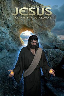 Jesus- I Am With You Always Art Print