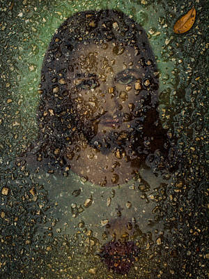 Photograph - Jesus In Stone by Randy Sylvia