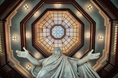 Photograph - Jesus In The Dome by Mark Dodd