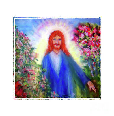 Photograph - Jesus In The Garden by Shirley Moravec