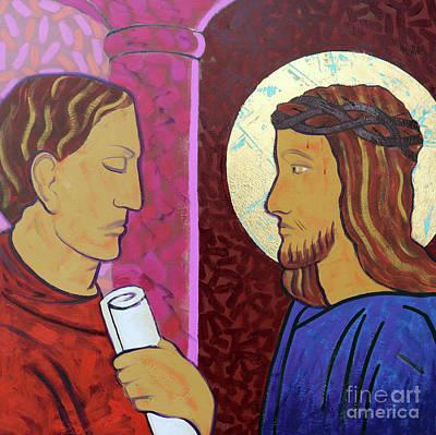 Jesus Is Condemned Art Print