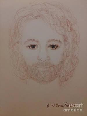 Jesus Is My Friend Original by N Willson-Strader