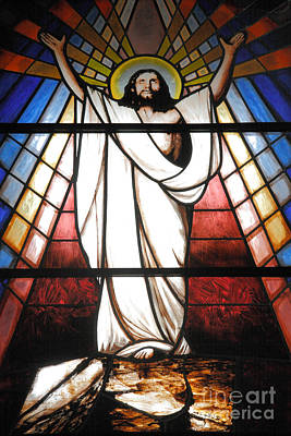 Resurrecting Photograph - Jesus Is Our Savior by Gaspar Avila