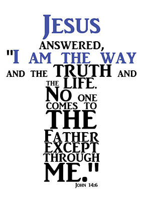 Photograph - Jesus Is The Way by Munir Alawi
