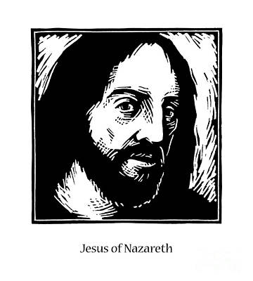 Painting - Jesus - Jljss by Julie Lonneman