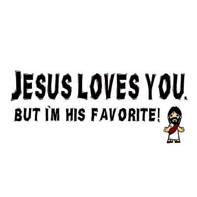 Jesus Freaks Digital Art - Jesus Loves You by Linda Bissett
