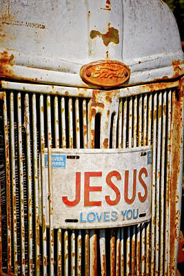 Photograph - Jesus Loves You by Linda Unger