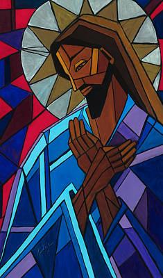 Jesus Art Print by Mary DuCharme