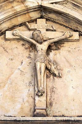 Jesus Christ Relief Photograph - Jesus by Michal Boubin