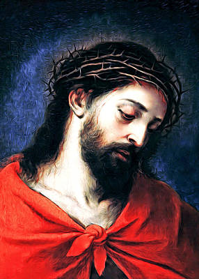 Photograph - Jesus by Munir Alawi