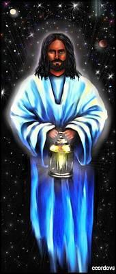 Jesus Digital Art - Jesus -my Savior, Messiah And Beacon by Carmen Cordova