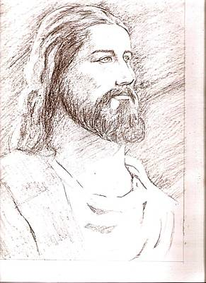 Jesus Art Print by Nevis Jayakumar