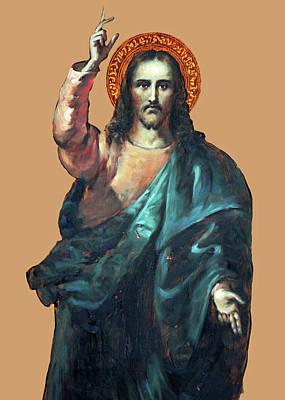 Photograph - Jesus Of Jerusalem by Munir Alawi