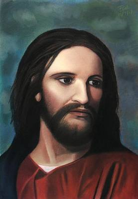 Pastel - Jesus Of Nazareth - King Of Kings by Vishvesh Tadsare