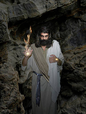 Photograph - Jesus- Oh Send Out Your Light And Your Truth  by Acropolis De Versailles