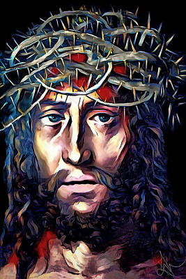 Digital Art - Jesus Our Saviour by Pennie McCracken
