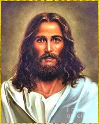Photograph - Jesus Portrait by Doug Norkum