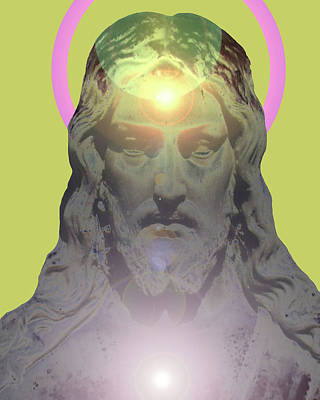 Jesus Portrait No. 01 Art Print