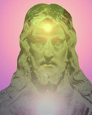 Jesus Portrait No. 02 Art Print
