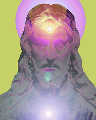 Jesus Portrait No. 03 Art Print