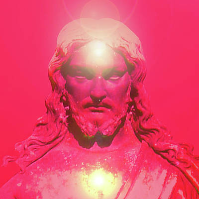 Jesus-portrait No. 05 Art Print