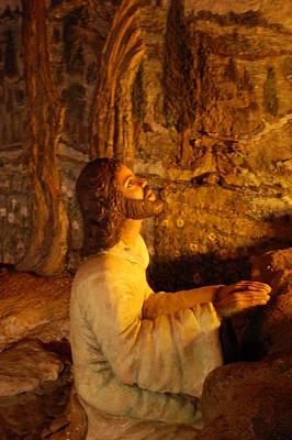 Jesus Praying Original by Michelle Williams