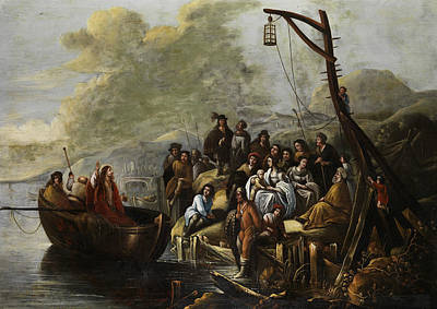Painting - Jesus Preaches At The Sea Of Galilee by Gerbrand van den Eeckhout