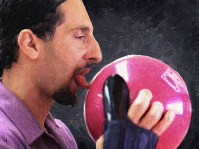 Jeff Bridges Painting - Jesus Quintana - The Big Lebowski  by Taylan Apukovska