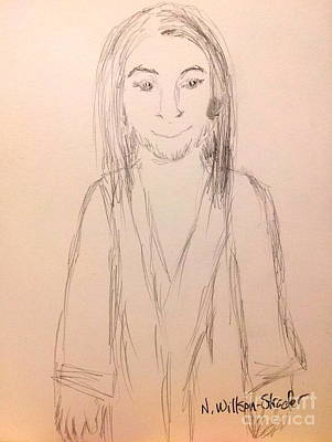 Jesus, Rough Sketch Original