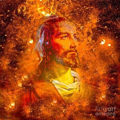Painting - Jesus by Saundra Myles