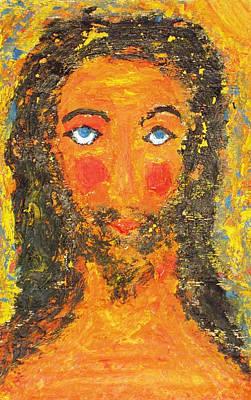 Painting - Jesus. Summer. by Bennu Bennu