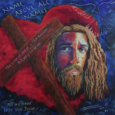 Jesus The Answer Original by Anita Ann Johnson