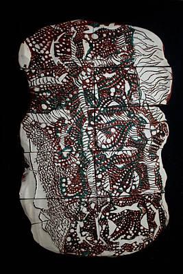 Ceramic Art - Jesus The Lion Of Judah by Gloria Ssali